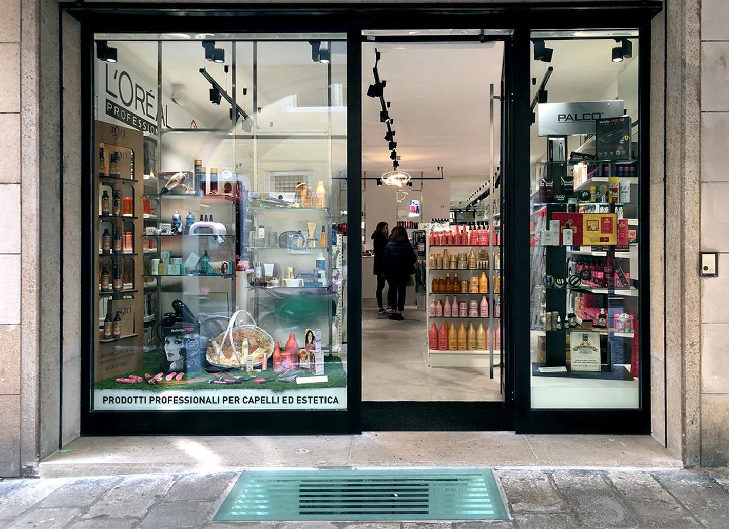 negozio per capelli